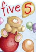 Boys Age 5 Forever Friends Birthday Card